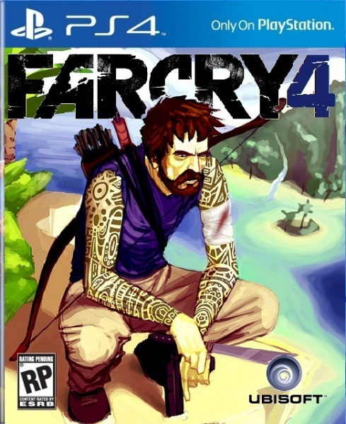 far cry 1 cover art