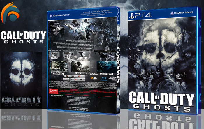 Call Of Duty Ghosts Playstation 4 Box Art Cover By Hlol Gfx
