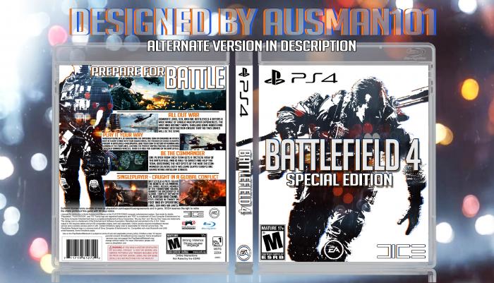 Battlefield 4 PlayStation 4 Box Art Cover by Ausman101