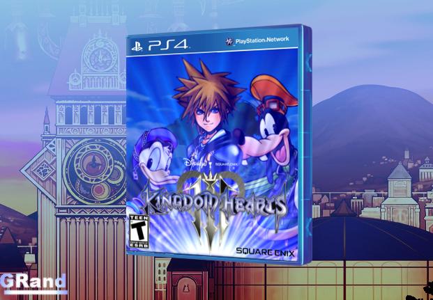Kingdom Hearts III PlayStation 4 Box Art Cover by GRand