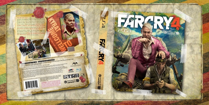 Far Cry 4 PlayStation 4 Box Art Cover by AMIR-013