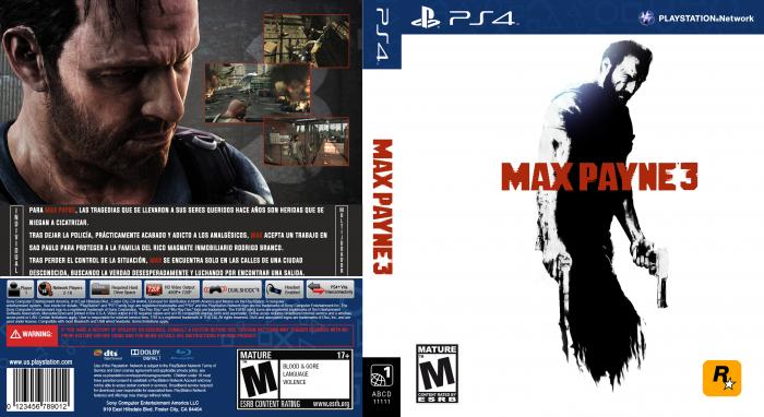 Max Payne 3 Playstation 4 Box Art Cover By Jony13