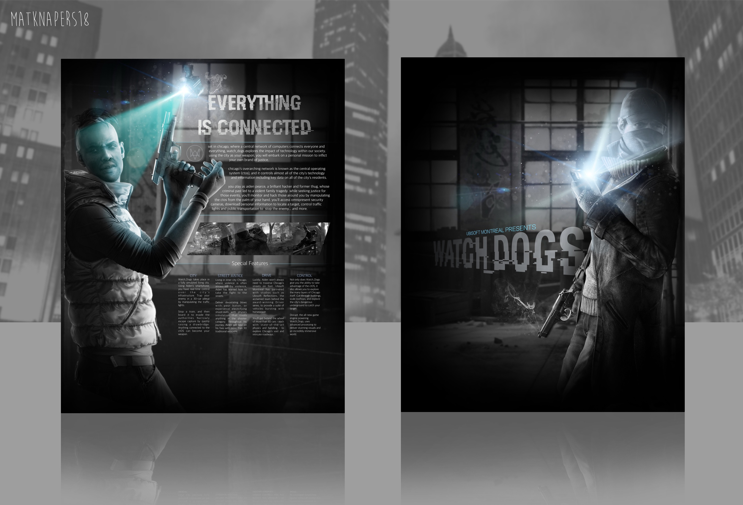 Watch Dogs box cover