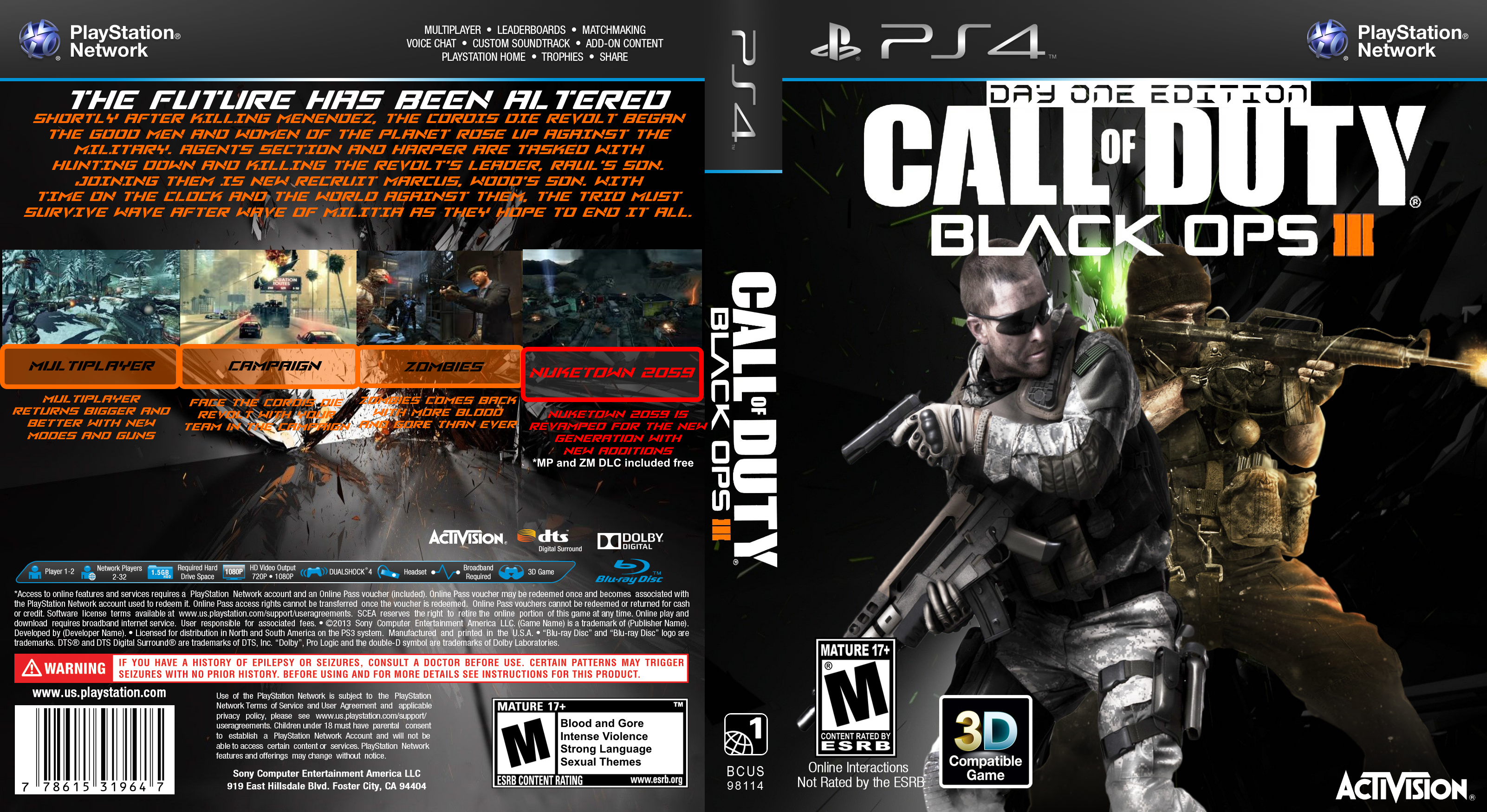 how to play black ops 2 on ps4