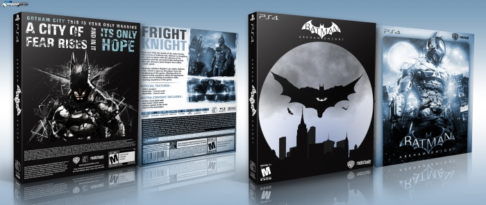 Batman: Arkham Knight PlayStation 4 Box Art Cover by iman pro