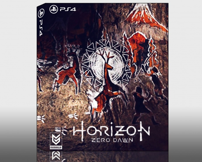 Horizon Zero Dawn Box Art: Horizon: Zero Dawn PlayStation 4 Box Art Cover By Camwhyy