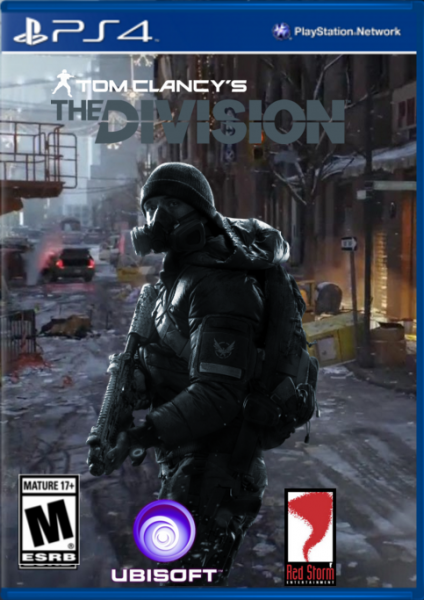 Tom Clancy S The Division Playstation 4 Box Art Cover By