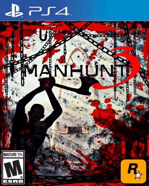 Manhunt 3 PlayStation 4 Box Art Cover By Alxlopz1999