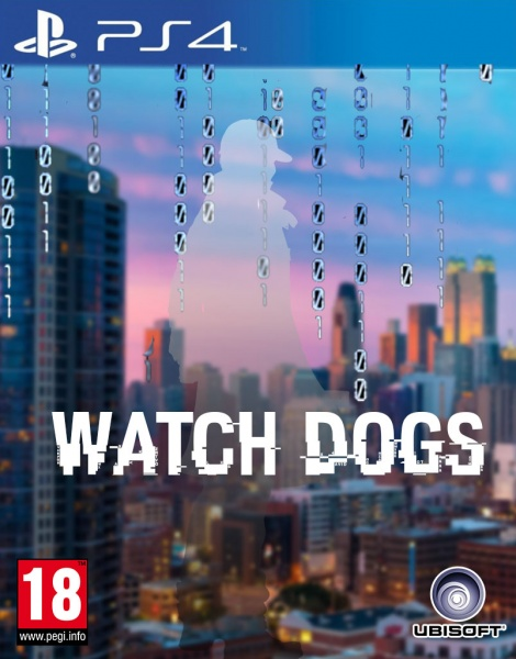 Watch Dogs PlayStation 4 Box Art Cover by zeljko22