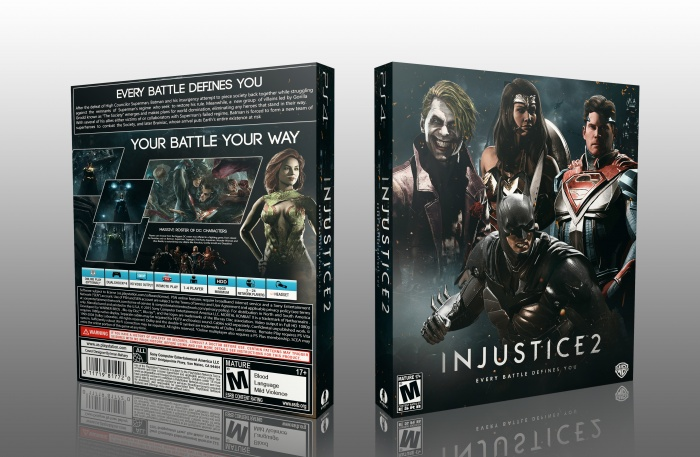Injustice 2 Playstation 4 Box Art Cover By Edward91