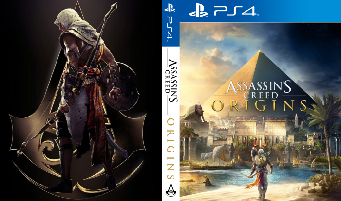 Assassin's Creed Origins PlayStation 4 Box Art Cover by ...