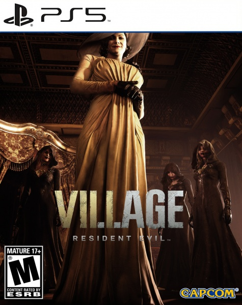 Resident Evil Village box art cover