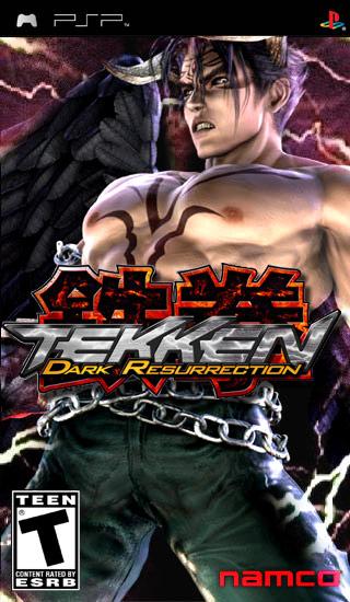 tekken 5 dark resurrection psp