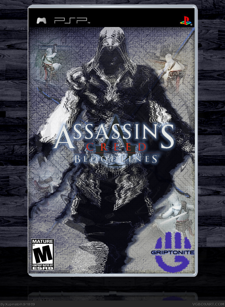 Assassins Creed Bloodlines Psp Box Art Cover By Xupmatoih