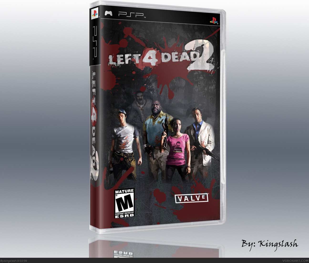 Left 4 Dead 2 Psp Box Art Cover By Kingslash