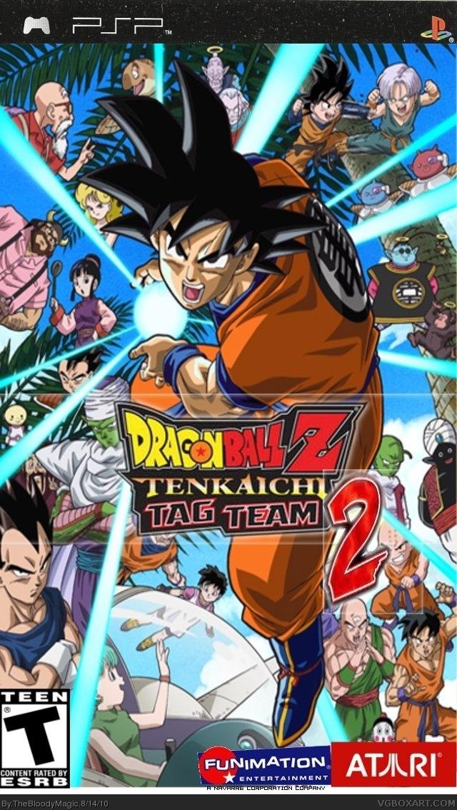 Dragonball Z Ttt2 Psp Box Art Cover By Thebloodymagic