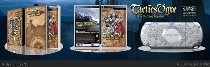 Tactics Ogre: Let Us Cling Together PSP Box Art Cover by Grand