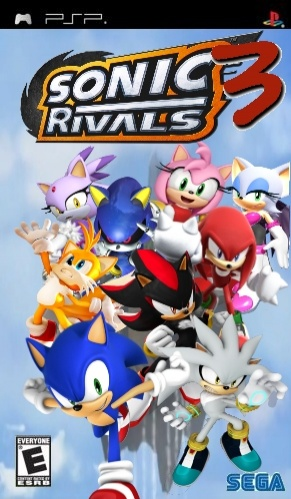 Sonic Rivals 3 Psp Box Art Cover By Sonichiperfan