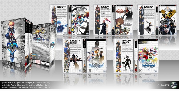 Kingdom Hearts: the Collection box art cover