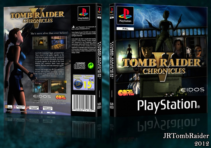 Tomb Raider V Playstation Box Art Cover By Jrtombraider