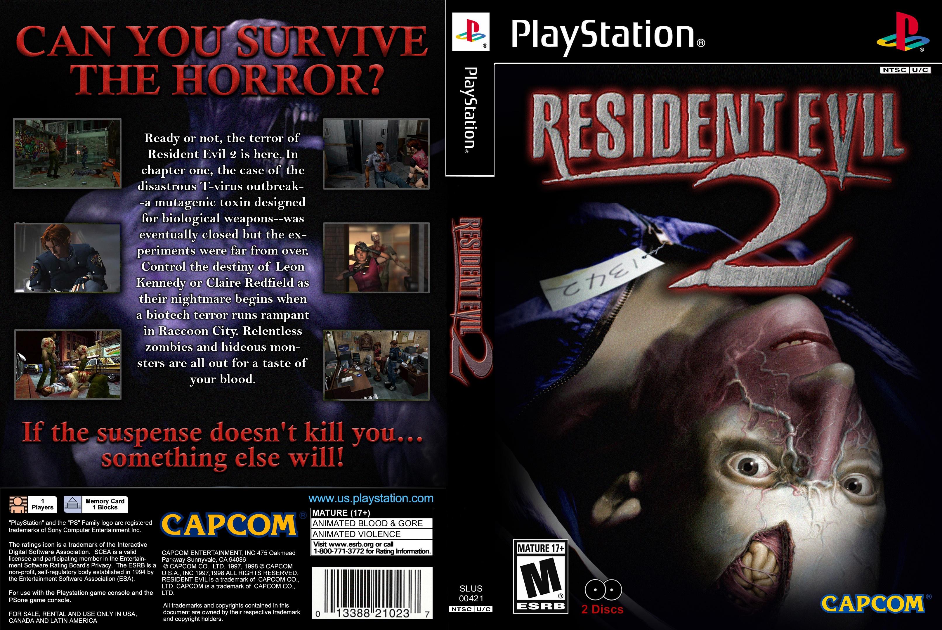 Ps1 Resident Evil 2