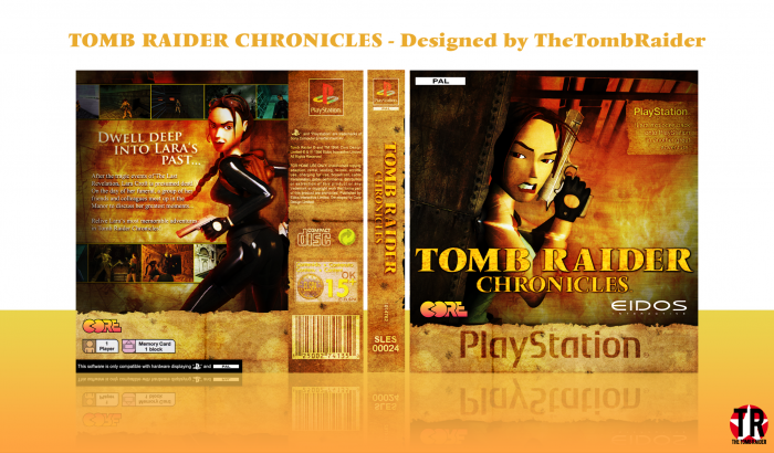 Tomb Raider Chronicles PlayStation Box Art Cover by ...