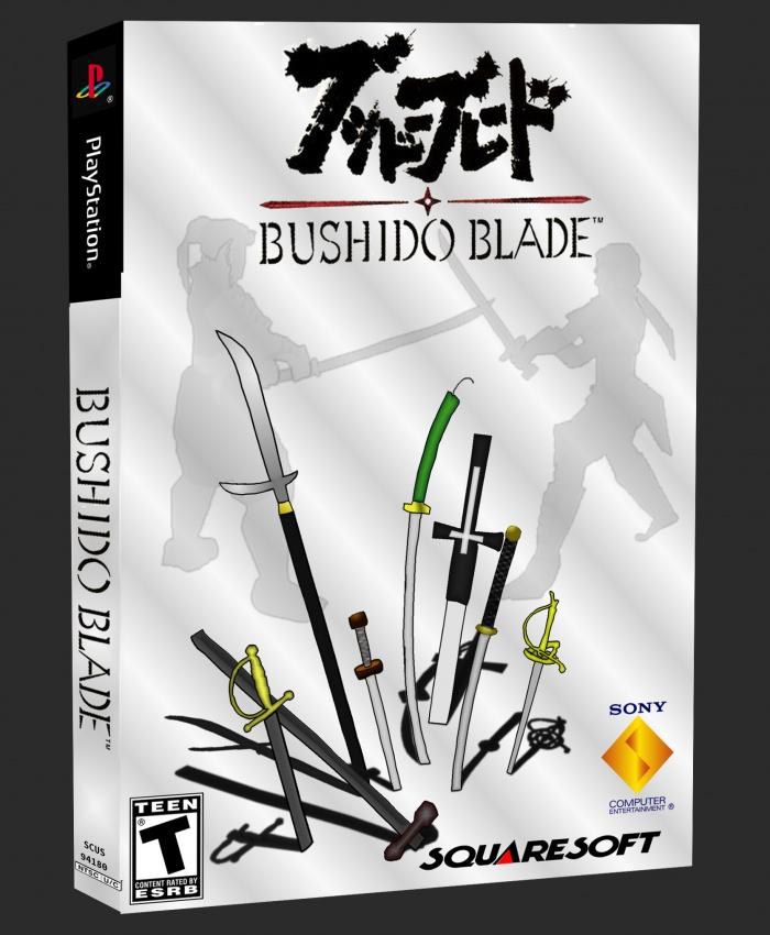 Bushido Blade Playstation Box Art Cover By Bobdotexe