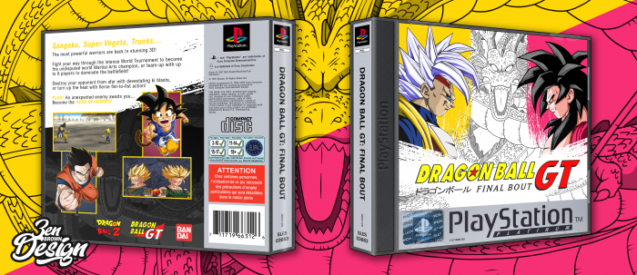 DragonBall: Final Bout box art cover