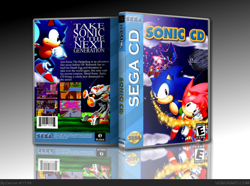 Sonic CD box cover