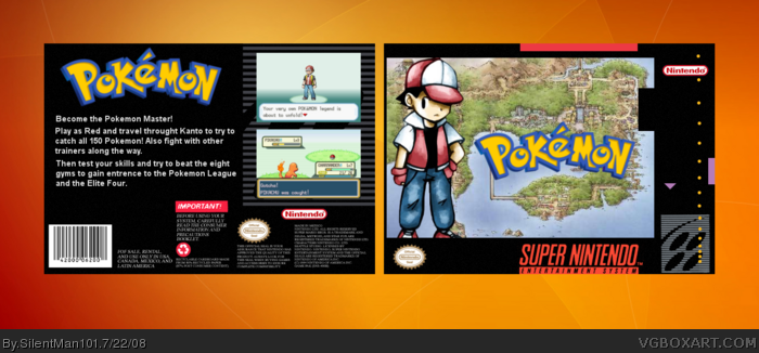 SNES » Pokemon Box Cover  ← →    13,333  12 (?)