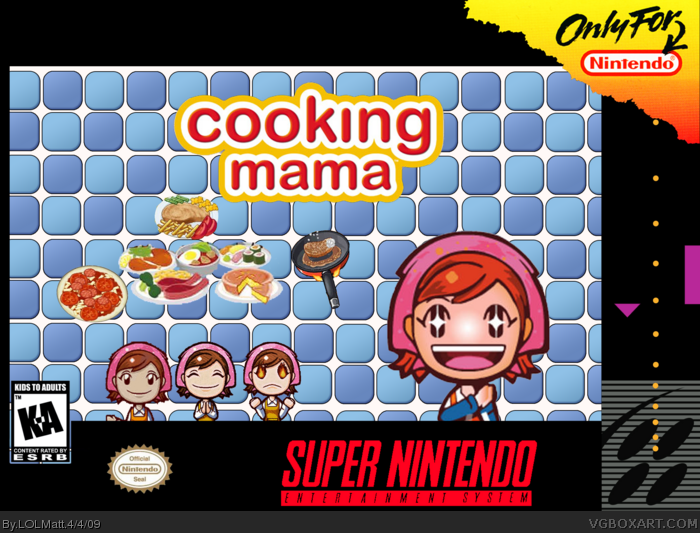 Mean Mama Cooking Game 86