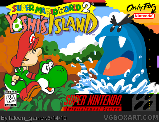 Super Mario World 2: Yoshi's Island box cover