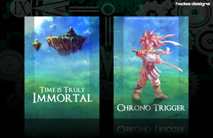Chrono Trigger SNES Box Art Cover by Hades
