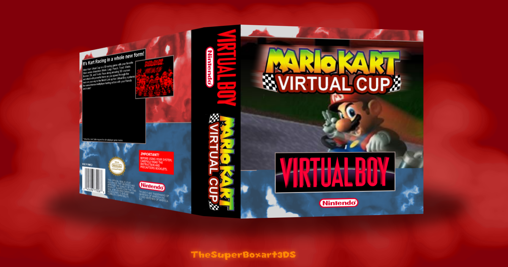 Mario Kart: Virtual Cup box cover