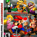 Mario Kart Tight Turn Box Art Cover