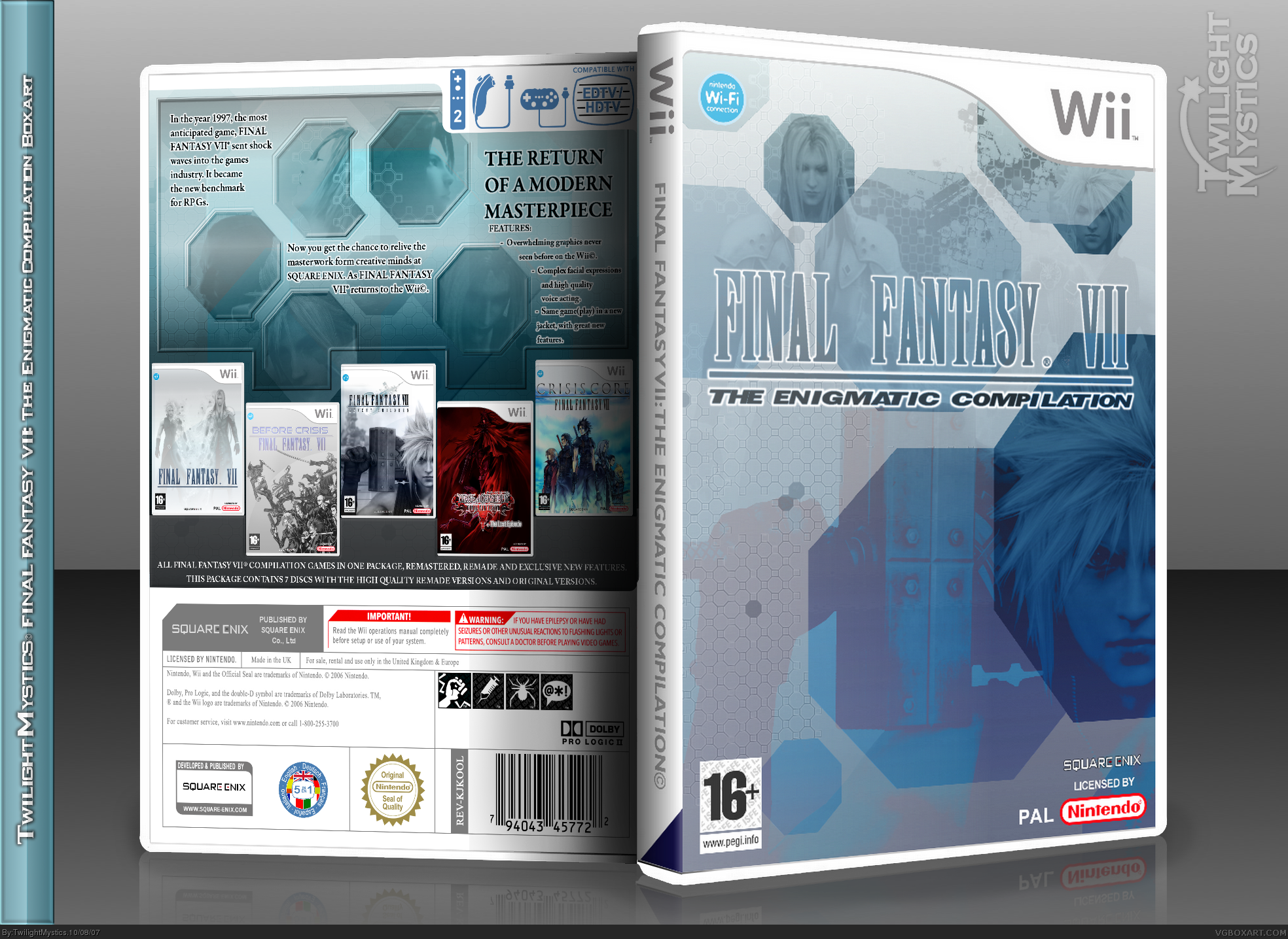 Final Fantasy VII: The Engimat...