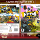 Rayman Ravin Rabbids 2 Box Art Cover