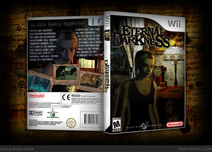 Blade of Eternal Darkness Eternal Darkness Box Art Cover