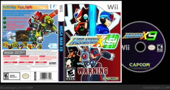 Mega Man X9 Wii Box Art Cover By Rasenganboi