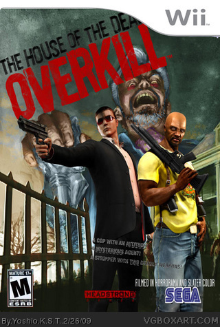 The House Of The Dead Overkill Wii Box Art Cover By Yoshio K S T