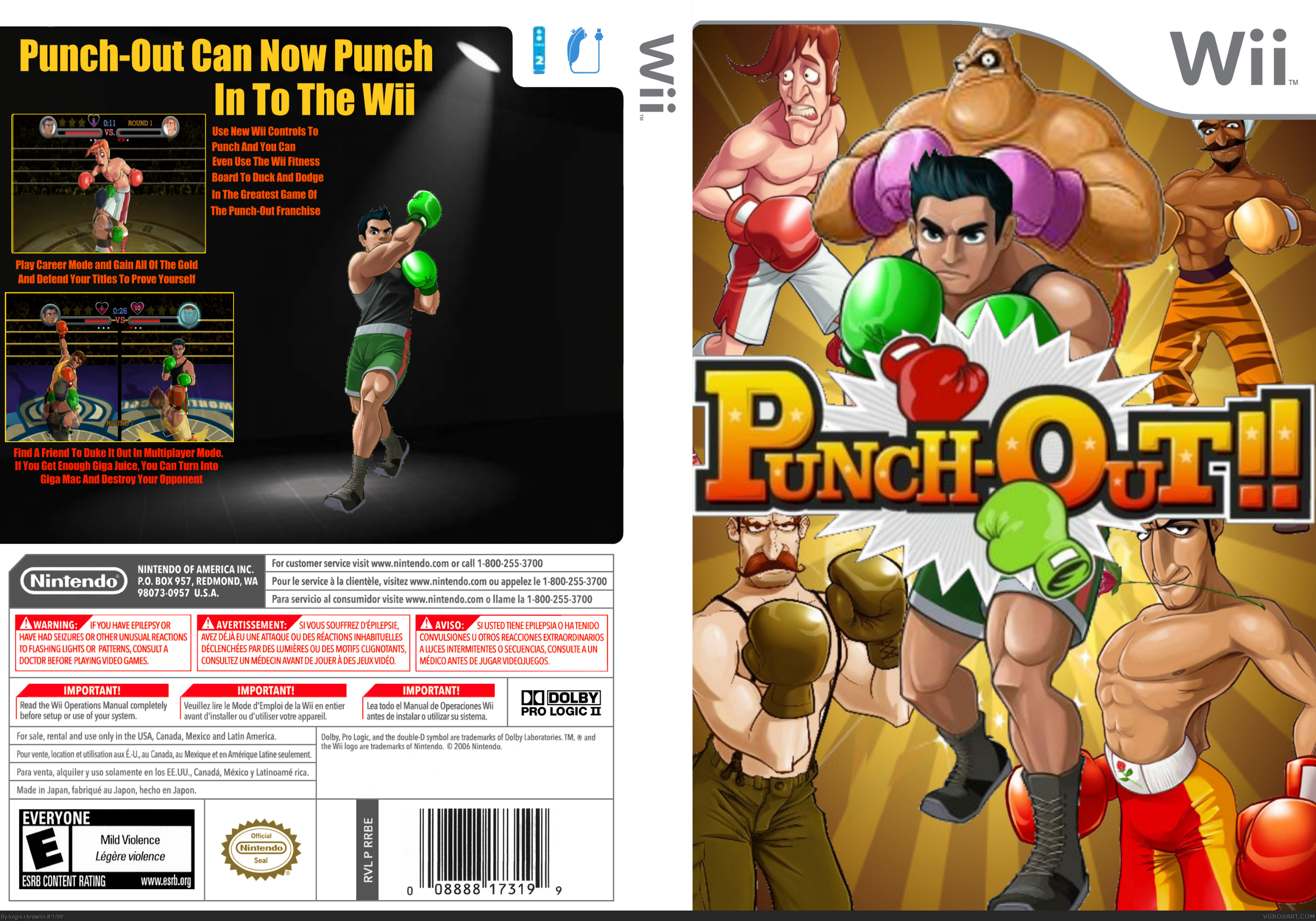 Wii » Punch-Out Wii Box Cover  ← →    7,240  2 (?)