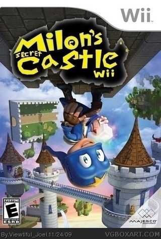 Milon S Secret Castle Wii Wii Box Art Cover By Viewtiful Joel