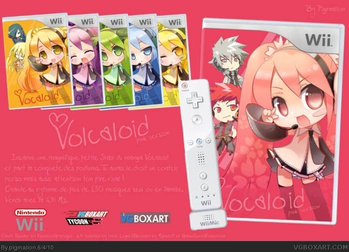 Vocaloid: Pink Version box art cover