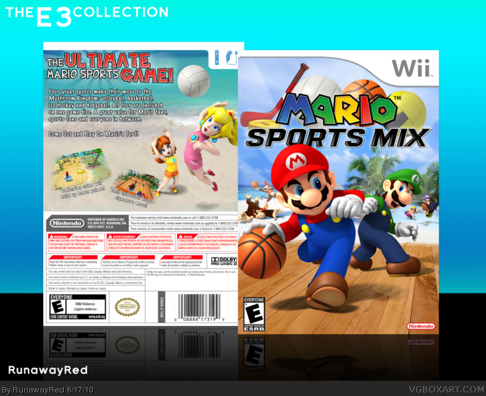 Mario Sports Mix box art cover