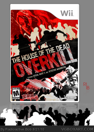 House Of The Dead Overkill Wii Box Art Cover By Radioactive Bob
