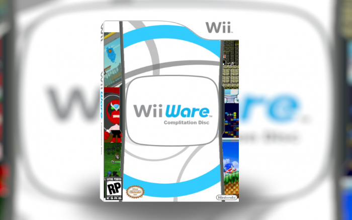 WiiWare Compilation Disc Wii Box Art Cover by TheSuperBoxart3DS