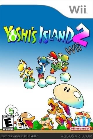 Yoshi S Island Cover Art