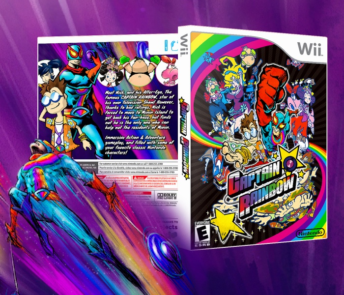Captain Rainbow box art cover