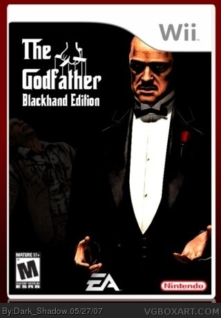 The Godfather Blackhand Edition box cover