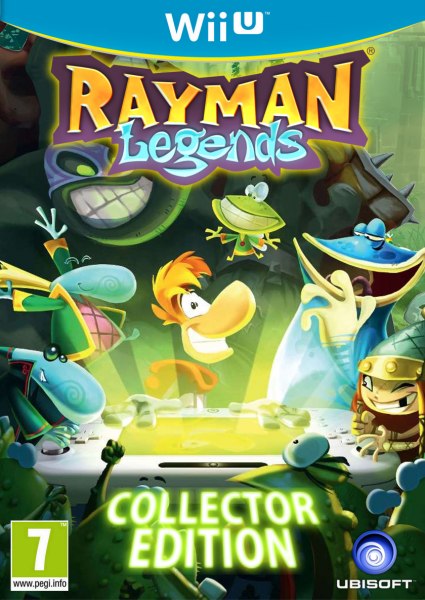 Rayman Legends Collector Edition Wii U Box Art Cover By SquizCat